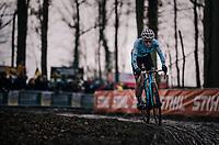 defending World Champion Sanne Cant (BEL/Iko-Beobank)<br /> <br /> Women Elite Race<br /> UCI CX Worlds 2018<br /> Valkenburg - The Netherlands