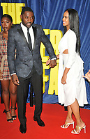 """Idris Elba and Sabrina Dhowre at the 65th BFI London Film Festival """"The Harder They Fall"""" opening gala,Royal Festival Hall, Belvedere Road, on Wednesday 06th October 2021, in London, England, UK. <br /> CAP/CAN<br /> ©CAN/Capital Pictures"""