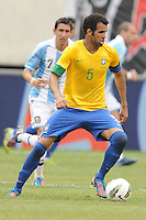 Brazil midfielder Sandro (5) The Argentina National Team defeated Brazil 4-3 at MetLife Stadium, Saturday July 9 , 2012.