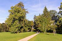 Park des  barocken Schloss Bothmer, Mecklenburg-Vorpommern, Deutschland