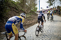 up the brutal Moskesstraat<br /> <br /> 61st Brabantse Pijl 2021 (1.Pro)<br /> 1 day race from Leuven to Overijse (BEL/202km)<br /> <br /> ©kramon