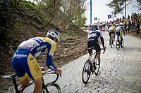 up the brutal Moskesstraat<br /> <br /> 61st Brabantse Pijl 2021 (1.Pro)<br /> 1 day race from Leuven to Overijse (BEL/202km)<br /> <br /> ©kramon