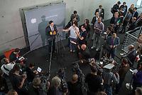 Sitzung des NSA-Untersuchungsausschuss am Donnerstag den 18. Juni 2015.<br /> Im Bild: Dr. Konstantin von Notz, Obmann der Bundestagsfraktion von Buendnis 90/Die Gruenen beim Pressestatement.<br /> 18.6.2015, Berlin<br /> Copyright: Christian-Ditsch.de<br /> [Inhaltsveraendernde Manipulation des Fotos nur nach ausdruecklicher Genehmigung des Fotografen. Vereinbarungen ueber Abtretung von Persoenlichkeitsrechten/Model Release der abgebildeten Person/Personen liegen nicht vor. NO MODEL RELEASE! Nur fuer Redaktionelle Zwecke. Don't publish without copyright Christian-Ditsch.de, Veroeffentlichung nur mit Fotografennennung, sowie gegen Honorar, MwSt. und Beleg. Konto: I N G - D i B a, IBAN DE58500105175400192269, BIC INGDDEFFXXX, Kontakt: post@christian-ditsch.de<br /> Bei der Bearbeitung der Dateiinformationen darf die Urheberkennzeichnung in den EXIF- und  IPTC-Daten nicht entfernt werden, diese sind in digitalen Medien nach §95c UrhG rechtlich geschuetzt. Der Urhebervermerk wird gemaess §13 UrhG verlangt.]