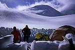 Saribung (6348m) advanced base camp on Damodar Glacier, Damodar Himal, 2008