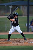AZL White Sox Daniel Millwee (45) at bat during an Arizona League game against the AZL Padres 2 on June 29, 2019 at Camelback Ranch in Glendale, Arizona. The AZL Padres 2 defeated the AZL White Sox 7-3. (Zachary Lucy/Four Seam Images)