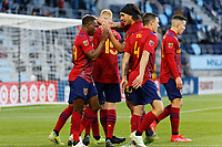 SAINT PAUL, MN - APRIL 24: Anderson Julio #29 of Real Salt Lake celebrates first goal during a game between Real Salt Lake and Minnesota United FC at Allianz Field on April 24, 2021 in Saint Paul, Minnesota.