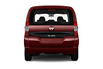Straight rear view of 2017 Fiat Qubo Easy 5 Door MPV stock images