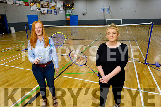 Jill Redmond (Secretary) and Michelle Corr officers of the newly formed Tralee Juvenile Badminton club and are holding an open day on Saturday 26th September in in the Tralee Sports Complex from   11am to 1pm.