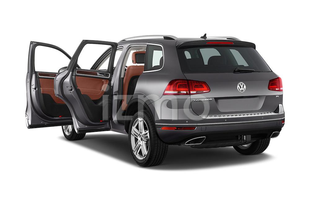 Car images of a 2015 Volkswagen Touareg Executive 5 Door Sport Utility Vehicle Doors