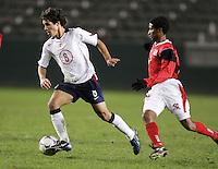 Benny Feilhaber, USA over Trinidad, 6-1, Wednesday, Jan. 12, 2005, in Carson, California.