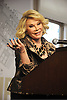 """Joan Rivers at her book signing for her new book """" I Hate Everyone... Starting With Me"""" at Barnes & Noble Union Square in New York City."""