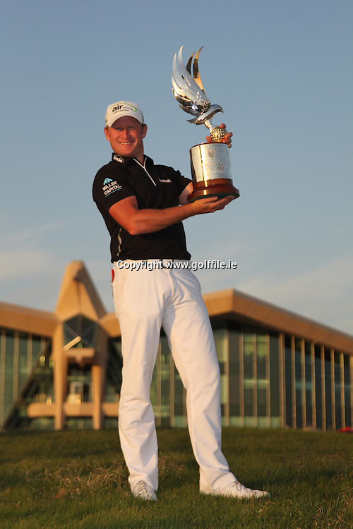 Jamie Donaldson (WAL) wins the tournament by 1 shot at the end of Sunday's final round of the Abu Dhabi HSBC Golf Championship in the Abu Dhabi golf club, Abu Dhabi, UAE..Picture: Fran Caffrey/www.golffile.ie.