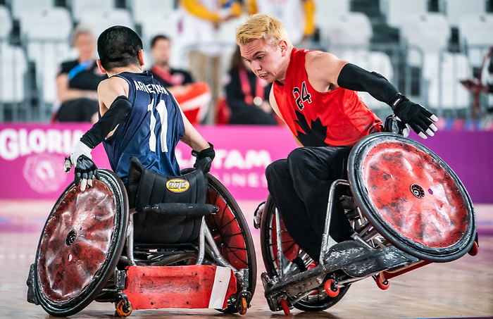 Branden Troutman, Lima 2019 - Wheelchair Rugby // Rugby en fauteuil roulant.<br />
