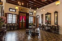 Peranakan Mansion, the Ladies Room, George Town, Penang, Malaysia.
