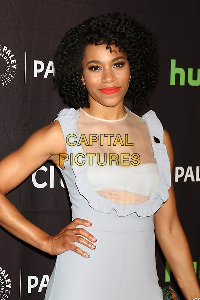 LOS ANGELES, CA - MARCH 19: Kelly McCreary at the 34th Annual PaleyFest presentation of Grey's Anatomy at the Dolby Theater in Los Angeles, California on March 19, 2017. <br /> CAP/MPI/DE<br /> ©DE/MPI/Capital Pictures