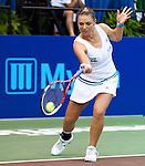 Tetiana Luzhanska at the Freedoms vs. Explorers WTT match in Villanova, PA on July 16, 2012