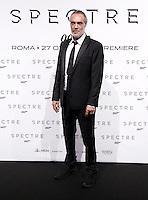 L'attore Alessandro Cremona posa sul red carpet per la premiere del film 'Spectre' a Roma, 27 ottobre 2015 .<br /> Italian actor Alessandro Cremona poses on the red carpet for the premiere of the movie 'Spectre' premiere in Rome, 27 October 2015 .<br /> UPDATE IMAGES PRESS/Isabella Bonotto