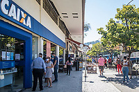 27/07/2020 - FILAS EM AGÊNCIAS DA CAIXA NO RIO DE JANEIRO