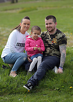 "COPY BY TOM BEDFORD<br /> Pictured: Mia Chambers (C) with dad Josh (R) mum Kirsty (L) <br /> Re: One of Britain's poorest towns is raising £100,000 to send a little girl to America because the lifesaving drugs she needs are not available on the NHS.<br /> Brave Mia Chambers, five, is in remission after having an ovary and kidney removed due to neuroblastoma, a rare and aggressive type of cancer.<br /> Doctors have told her parents Josh and Kirsty there is a 50 per cent chance of the cancer returning without the specialist drugs.<br /> Josh, 28, said: ""That's not a chance we are prepared to take - the odds are too high.<br /> ""We researched it on the internet and found children in the US are beating this terrible illness.<br /> ""Doctors there are willing to treat her but it will cost more money than we have.""<br /> The couple's plight has touched the hearts of people in their home town of Merthyr Tydfil, South Wales, and money has begun pouring in.         <br /> Mia had chemotherapy on the Rainbow ward at the Noah's Ark Children's Hospital for Wales where nurses nicknamed her the Rainbow Warrior because of her fighting spirit."