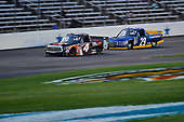 NASCAR Camping World Truck Series<br /> winstaronlinegaming.com 400<br /> Texas Motor Speedway, Ft. Worth, TX USA<br /> Friday 9 June 2017<br /> Christopher Bell, JBL Toyota Tundra, Chase Briscoe, Cooper Standard Ford F150<br /> World Copyright: John K Harrelson<br /> LAT Images<br /> ref: Digital Image 17TEX2jh_02261