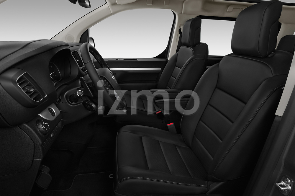 Front seat view of a 2020 Opel Zafira-Life Business-Innovation 5 Door Mini Van front seat car photos