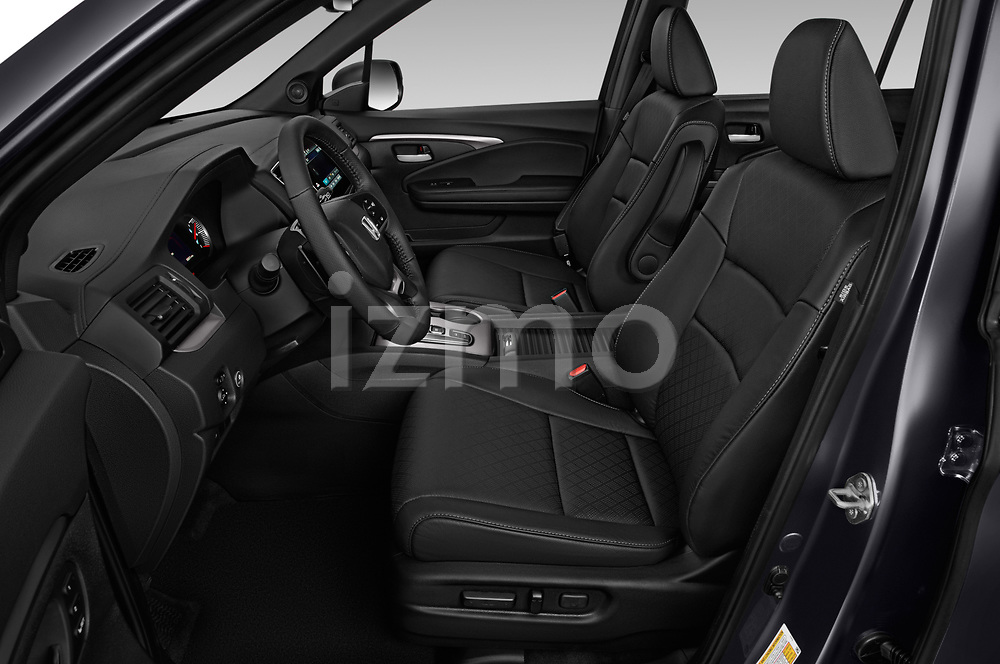 Front seat view of 2019 Honda Passport EX-L 5 Door SUV Front Seat  car photos