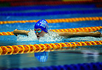 Eliza Fairweather (400m freestyle). Session ten on day five of the 2017 National Age Group Swimming Championships at  Wellington Regional Aquatic Centre in Wellington, New Zealand on Saturday, 25 March 2017. Photo: Dave Lintott / lintottphoto.co.nz