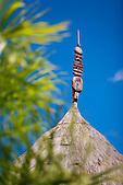 Flèche faîtière kanak de Koné, province Nord Nouvelle-Calédonie