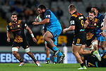 Charlie Faumuina of the Blues during the Super Rugby Match between the Blues and the Chiefs, Eden Park, Auckland,  New Zealand. Friday 26  May 2017. Photo: Simon Watts / www.bwmedia.co.nz