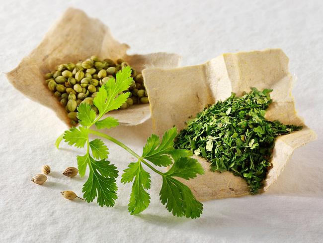 Corinder leaves herb & ground corinader spice