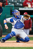 Zach Briggs (15);March 9th, 2010; South Dakata State University vs Arkansas Razorbacks at Baum Stadium in Fayetteville Arkansas. Photo by: William Purnell/Four Seam Images
