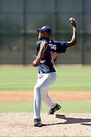 Santos Frias - Cleveland Indians 2009 Instructional League.Photo by:  Bill Mitchell/Four Seam Images..