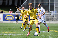 Thomas Raimbault of the Wellington Phoenix during the SPS Handa Men's Premiership - Wellington Phoenix v Team Wellington at Fraser Park, Wellington on Saturday 14 November 2020.<br /> Copyright photo: Masanori Udagawa /  www.photosport.nz