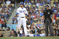 05/20/12 Los Angeles, CA: Los Angeles Dodgers right fielder Andre Ethier #16 during an MLB game between the St Louis Cardinals and the Los Angeles Dodgers played at Dodger Stadium. The Dodgers defeated the Cardinals 6-5.