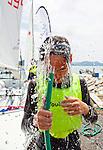 ISAF Emerging Nations Program, Langkawi, Malaysia.<br />Imran Hans Ringvold from Malaysia, 420, Sail Number: MAS 53461