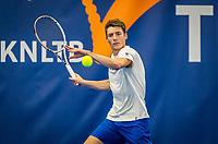 Amstelveen, Netherlands, 17  December, 2020, National Tennis Center, NTC, NK Indoor, National  Indoor Tennis Championships,   :  Roland Stuurman (NED) <br /> Photo: Henk Koster/tennisimages.com