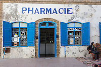 Essaouira, Morocco.  A Pharmacy in the Medina.