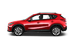 Car Driver side profile view of a 2016 Mazda CX-5 Grand-Touring-auto 5 Door SUV Side View