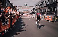 Bob Jungels (LUX/Quick-Step Floors) wins the 104th Liège - Bastogne - Liège 2018 (1.UWT)<br /> <br /> 1 Day Race: Liège - Ans (258km)