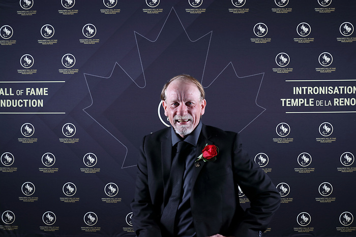 Vancouver, B.C. - November 15th, 2019 - Garett Hickling was one of the seven people inducted at the 2019 Canadian Paralympic Hall of Fame Induction Ceremony. Photo: Lydia Nagai/Canadian Paralympic Committee