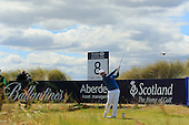 Branden GRACE (RSA) during round two of the 2016 Aberdeen Asset Management Scottish Open played at Castle Stuart Golf Golf Links from 7th to 10th July 2016: Picture Stuart Adams, www.golftourimages.com: 08/07/2016