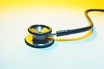 still-life of stethoscope