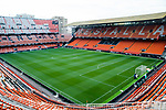 A general view of the Estadio de Mestalla stadium during the La Liga 2017-18 match between Valencia CF and Villarreal CF at Estadio de Mestalla on 23 December 2017 in Valencia, Spain. Photo by Maria Jose Segovia Carmona / Power Sport Images