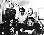 Heart 1982 Ann Wilson, Mark Andes, Danny Carmassi, Nancy Wilson and Howard Leese<br /> © Chris Walter
