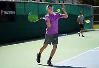 Eckhard Klaassen. 2019 Wellington Tennis Open at Renouf Centre in Wellington, New Zealand on Thursday, 19 December 2019. Photo: Dave Lintott / lintottphoto.co.nz