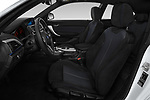 Front seat view of a 2018 BMW 1 Series M Sport Ultimate 3 Door Hatchback front seat car photos
