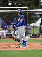 Carson Taylor - Los Angeles Dodgers 2021 spring training (Bill Mitchell)