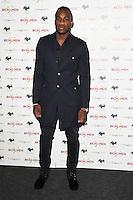 """Michail Antonio<br /> arrives for the """"Iron Men"""" premiere at the Mile End Genesis cinema, London.<br /> <br /> <br /> ©Ash Knotek  D3236  02/03/2017"""