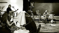 """Edge of Chaos Orchestra"" recording at the Blue Coconut Club, Pulborough, West Sussex."