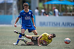 Wellington Phoenix vs Leicester City during the Main tournament of the HKFC Citi Soccer Sevens on 22 May 2016 in the Hong Kong Footbal Club, Hong Kong, China. Photo by Lim Weixiang / Power Sport Images